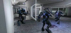 Block a sword lunge with a melee attack in Halo Reach