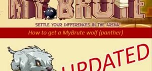 Get a MyBrute wolf / panther (07/03/09)