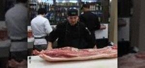 Butcher a pig