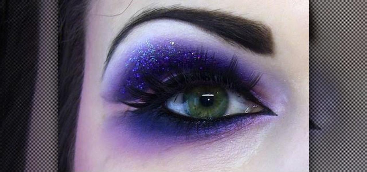 How To Create A Naughty Dramatic Purple Eye Makeup Look Makeup