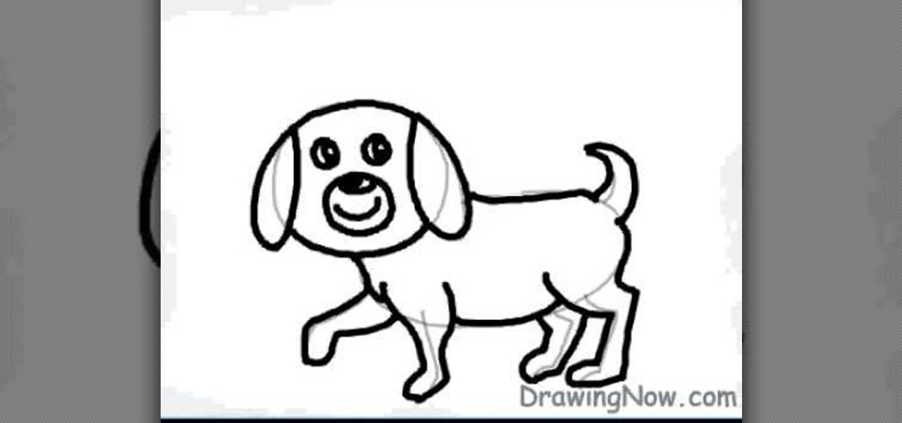 how to draw a cartoon puppy  u00ab drawing  u0026 illustration