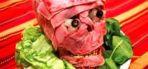 Make a Gnarly Halloween Meat Skull