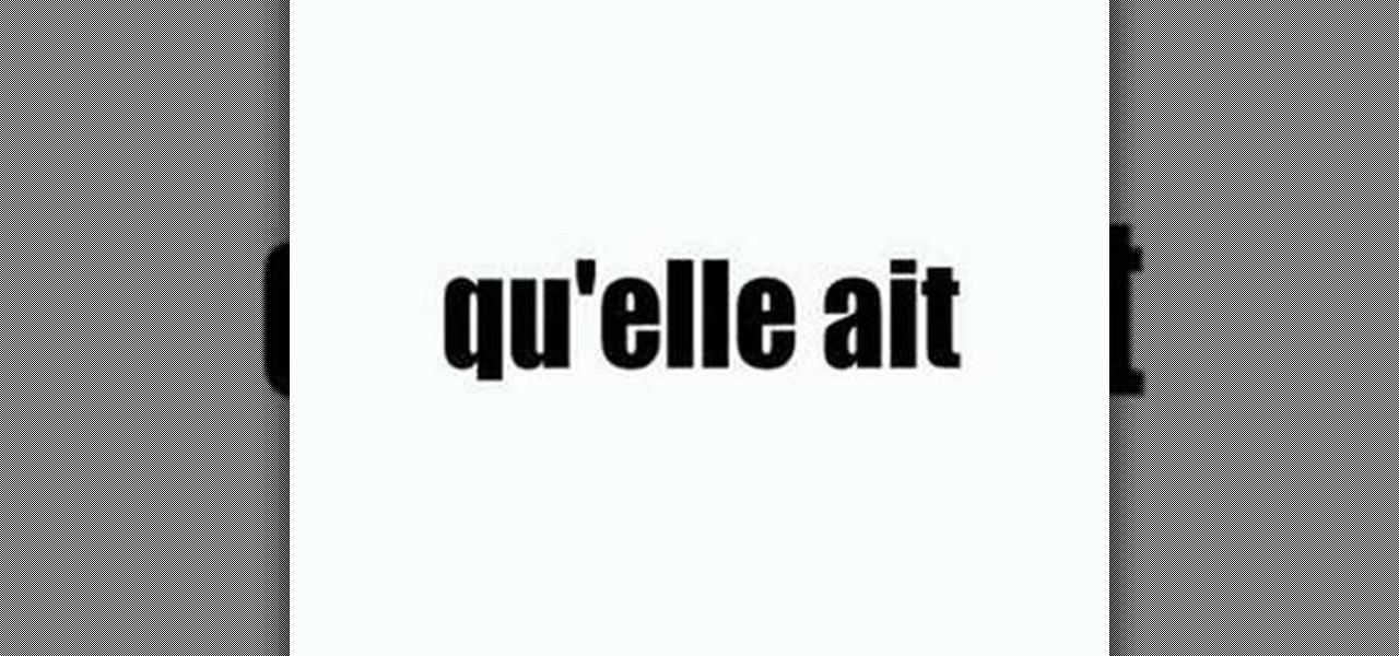 How to conjugate avoir in french in the present for Porte french conjugation