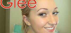 "Create Quinn Fabray's natural and girly makeup look from ""Glee"""