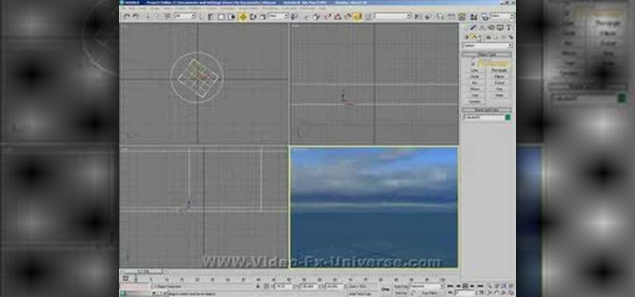 How to Create an ocean in 3ds Max « Autodesk 3ds Max :: WonderHowTo