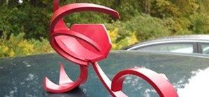 PVC Sculpture - Wave 2