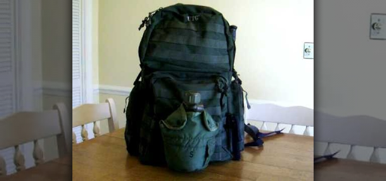 How To Pack A Survival Backpack Or Bug Out Bag Bob Training Wonderhowto
