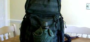 Pack a survival backpack or bug out bag (BOB)