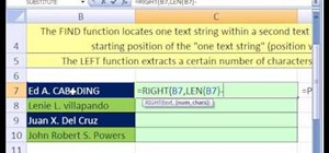 Rearrange parts of a text string in Microsoft Excel