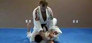 Do a Jiu Jitsu triangle choke from the mount position.