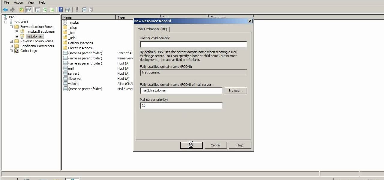 How to Create DNS records in Windows Server 2003 and 2008 ...