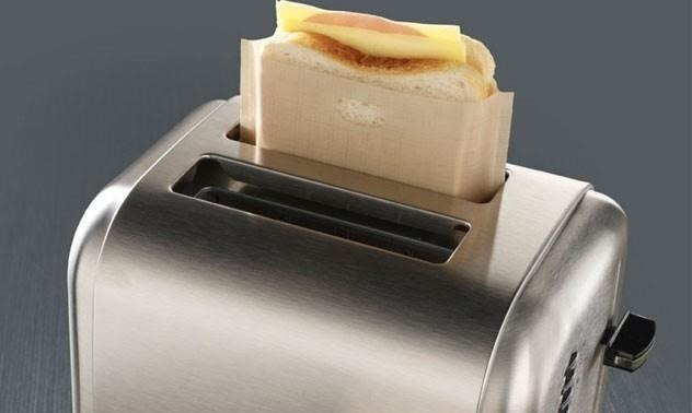 How to Make Lazy Grilled Cheese Sandwiches in Your Toaster