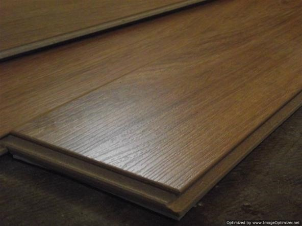 how to cut installed laminate flooring