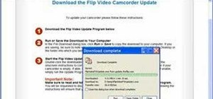 Upgrade the firmware for Flip Video Camcorder software