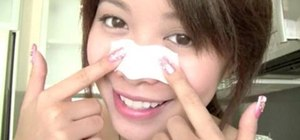 Make DIY pore strips with unflavored gelatin and milk