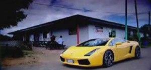 Drift a Lamborghini Gallardo with Tiff from Fifth Gear