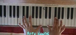 "Play ""Sally's Song"" from The Nightmare Before Christmas on piano"