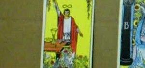 Read tarot cards with Peter John