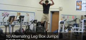 Jump higher and run faster doing plyometric exercises