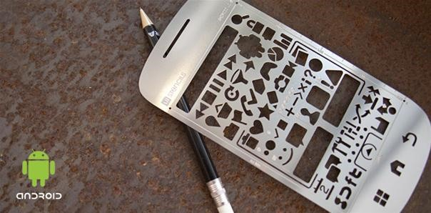 Cute Android Stencil Kit