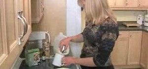 Make raw hot chocolate