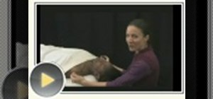 Massage your loved one's head and neck