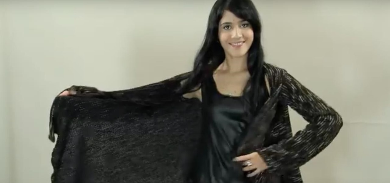 Make a Long-Sleeved Draped Cardigan with Gianny L