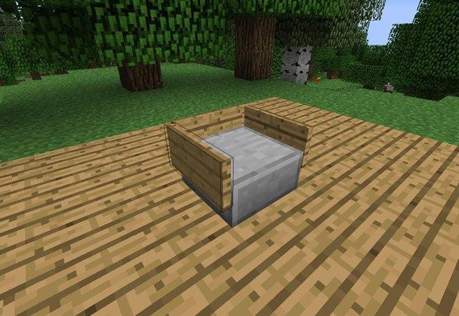 How To Make Furniture In Minecraft Minecraft Blog