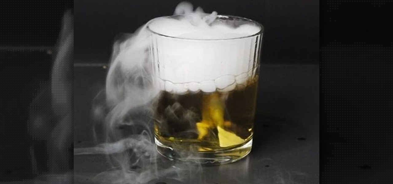 How to Use dry ice for cool science tricks, including ...