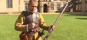 Fire a Matchlock musket
