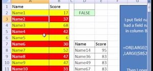 Extract the top 5 values from a given list in MS Excel