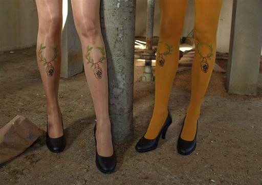 Screenprint Your Tights