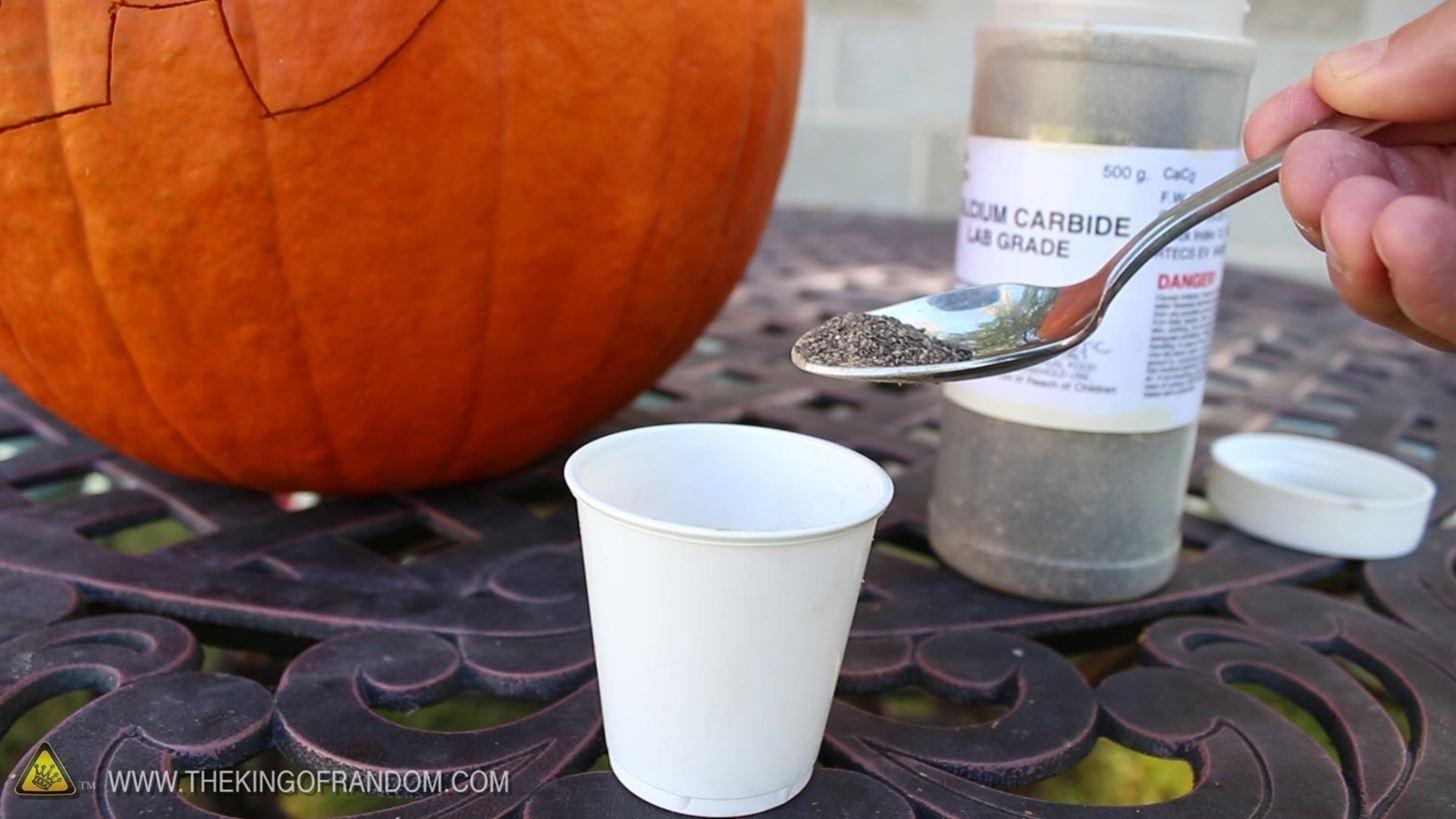How to Make an Exploding Pumpkin Face (aka Blast-O'-Lantern) for Halloween