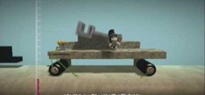 Make a catapult in Little Big Planet