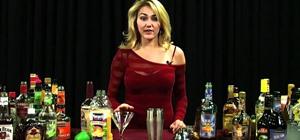 Mix a Blue Diablo cocktail with tequila, blue curaçao & orange juice