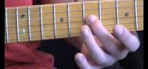 Play five blues licks on guitar