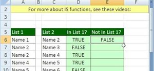 Find an item's relative position via MATCH in MS Excel