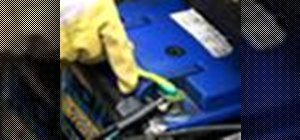 Clean your car battery terminal for optimum performance