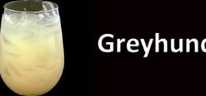 Make a classic Greyhound cocktail