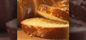 Make challah Jewish yeast bread