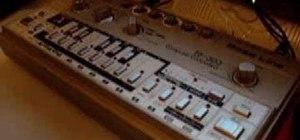 Program a TB-303 synthesizer