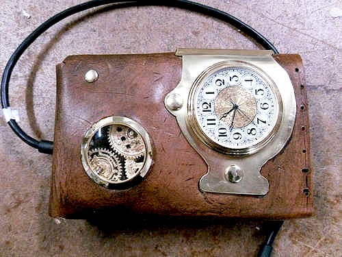 How to Steampunk an External Hard Drive Case