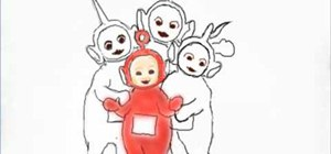 Draw teletubbies