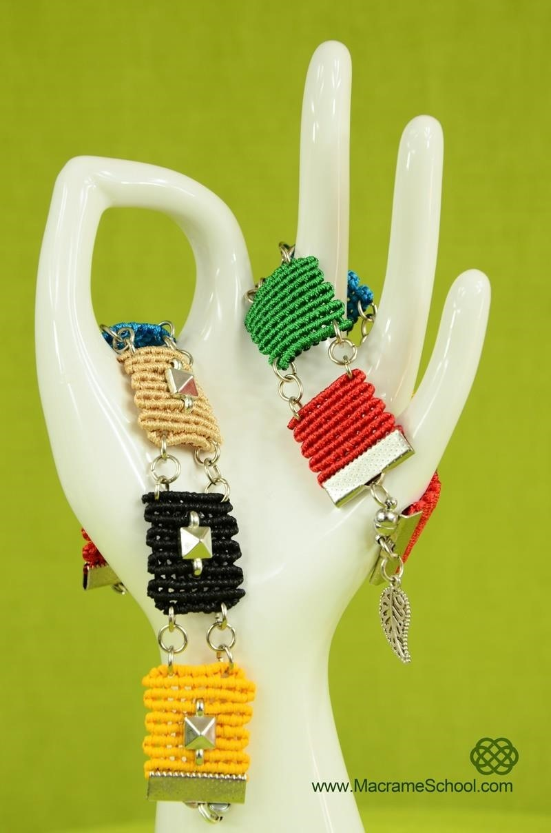 How to Picasso Square Bracelet
