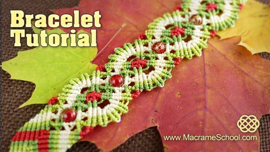 Macrame Autumn | Fall Bracelet Tutorial