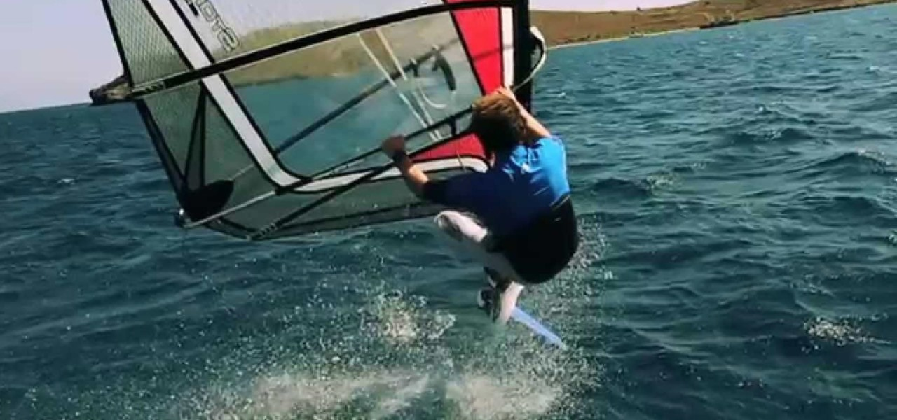 Chop Hop When Windsurfing