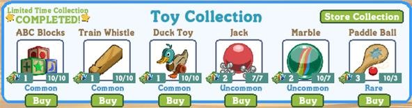 Limited Time Collection - Toy Collection