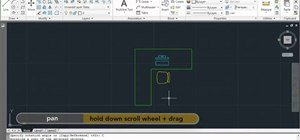 Rotate an element in Autodesk AutoCAD 2011