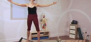 Stretch the posterior pelvic floor with Pilates