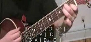 """Play """"Light My Fire"""" by the Doors on your guitar"""